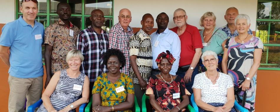 Uganda september 2018 – nasjonale med i teamet for første gang