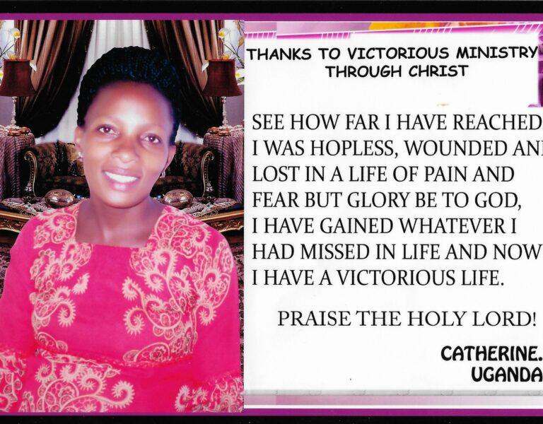 Catherine's testimony